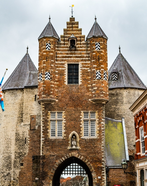 Gevangenpoort, the oldest monument in Bergen op Zoom