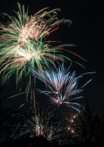 Fireworks, New Years Eve, 2019